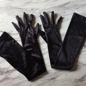 Accessories - 🍊Black Opera Gloves Halloween Costume